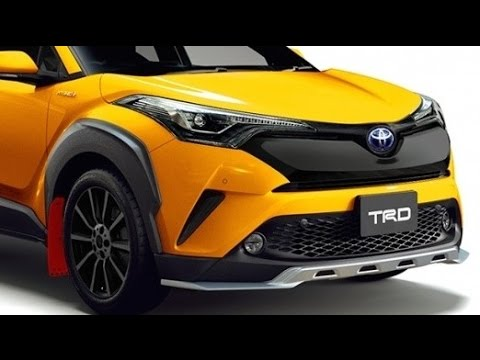 2017 toyota c hr trd yellow youtube. Black Bedroom Furniture Sets. Home Design Ideas