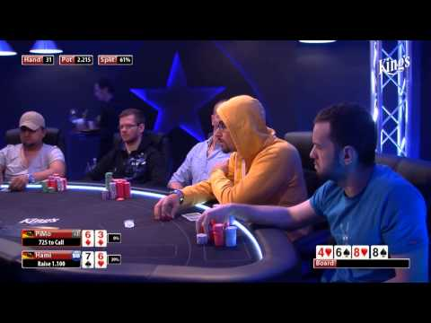 CASH KINGS E14 1/2 - DE - NLH 10/25 - Live cash game poker show - Johannes Strassmann