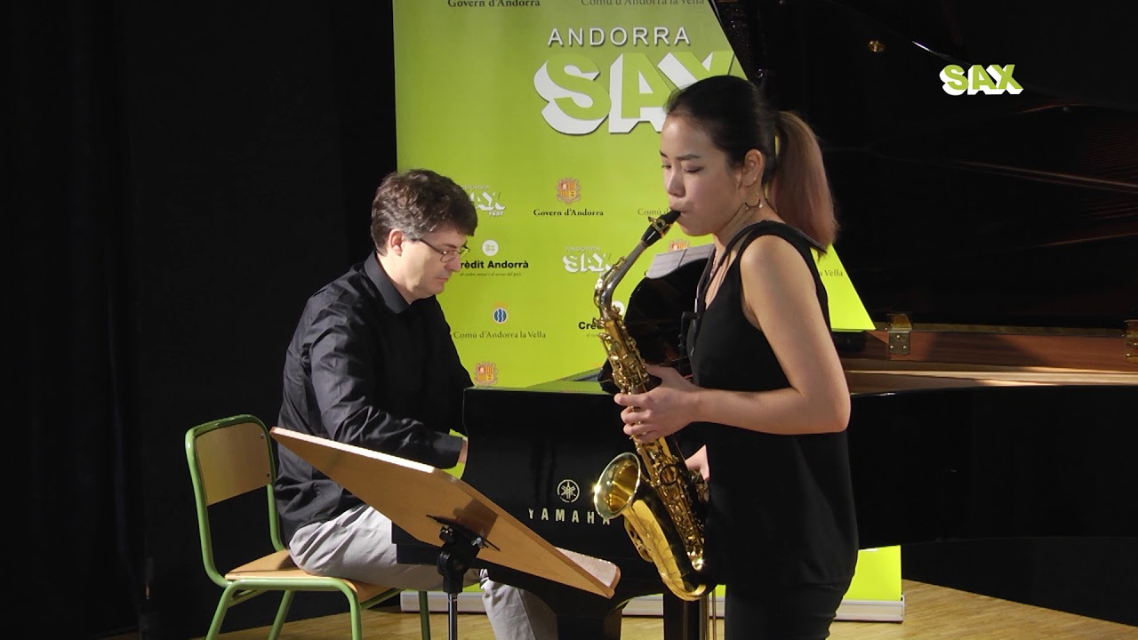 YUNA OGURI - 1st ROUND - V ANDORRA INTERNATIONAL SAXOPHONE COMPETITION 2018