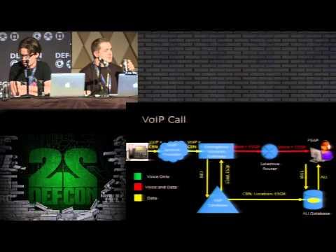 DEF CON 22 - Dameff, Tully, and Hefley - Hacking 911: Adventures in Disruption, Destruction & Death