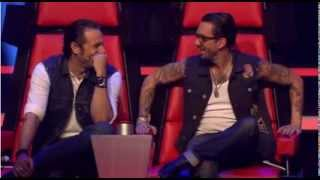 The Voice Of Germany 2013 || Lustige Momente (Blind Auditions)