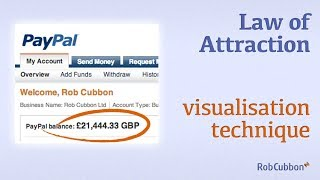 Add Millions To Your Bank Account With Law of Attraction Vision Board