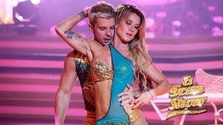 Leslie Shaw Baila Bachata Darte Un Beso Prince Royce Bailando Con Las Estrellas MQB DWTS