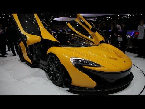 2014 McLaren P1 - 2013 Geneva Motor Show