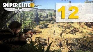 Sniper Elite 3 Прохождение на русском Аэродром Пон Дю Фа Часть 12
