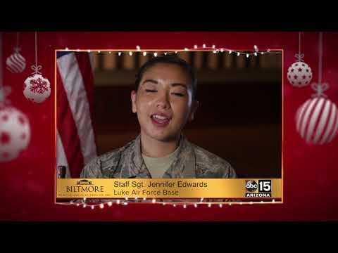 Military Greetings: Staff Sgt. Jennifer Edwards