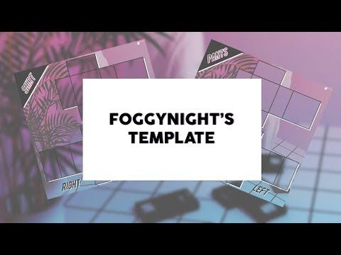 ROBLOX Template Design: foggynights [REQUEST]