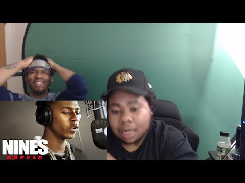 THE MIC IS ON FIRE!!!!! Nines - Fire In The Booth-Reaction