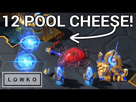 StarCraft 2: Bly's IMPROVED Zerg Rush!