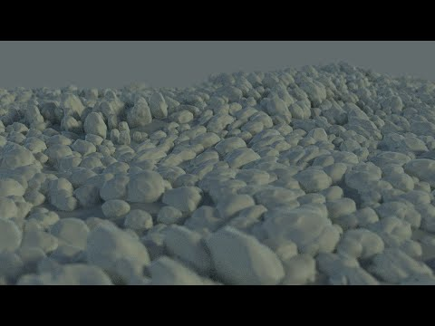 How to make rocks in Blender Fast and Easy! Blender 2.72b