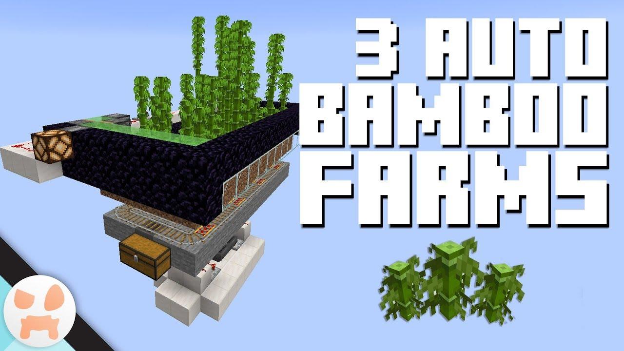 3 AUTO BAMBOO FARM DESIGNS!