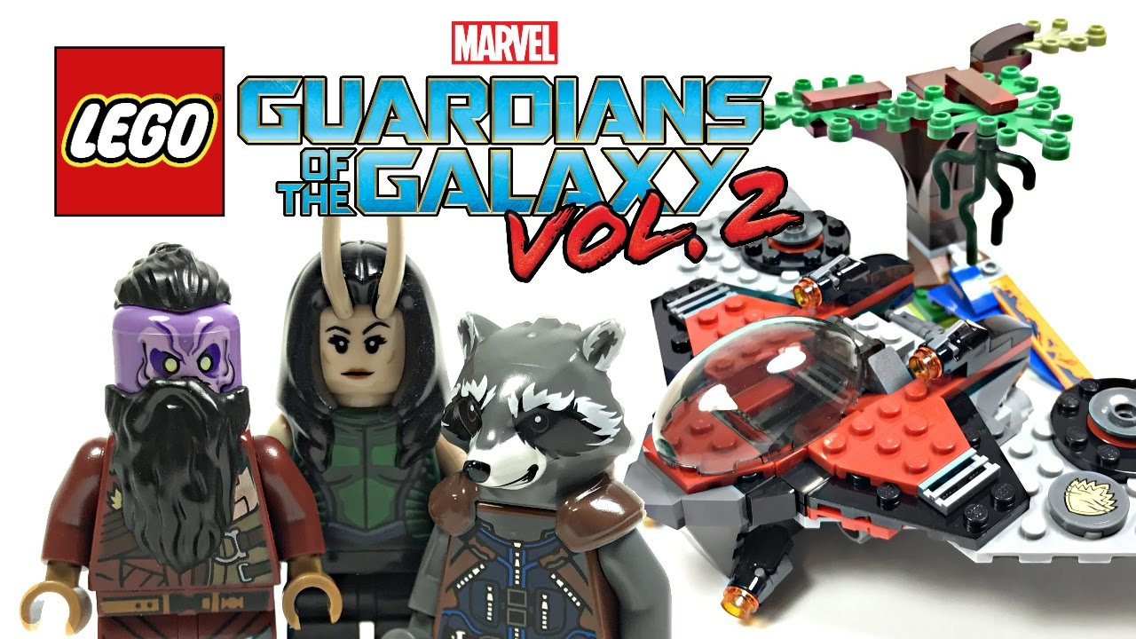 LEGO Guardians of the Galaxy 2 Ravager Attack review! 2017 set 76079!