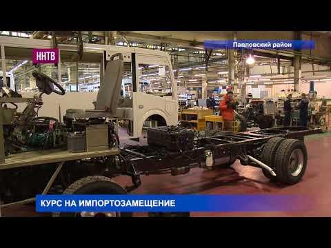 Глеб Никитин посетил Павловский автобусный завод с рабочим визитом