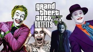 GTA 5 Online - Marvel and DC Outfits (Joker SPECIAL)