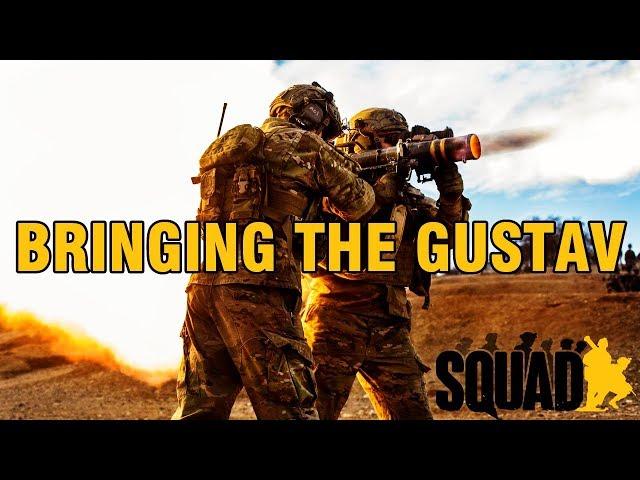 Bringing the Gustav | Squad V14 Gameplay
