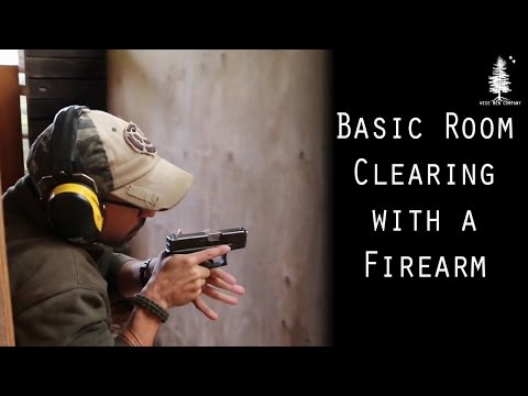 Basic Room Clearing with a Firearm