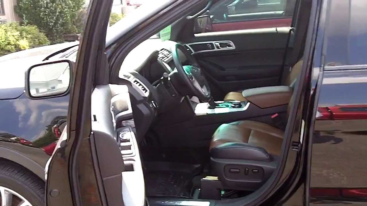 Ford Explorer Limited >> Pecan leather in our 2012 Ford Explorer Limited - YouTube