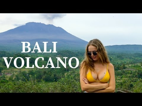 *INSANE* BALI - MOUNT AGUNG, THE GREATEST VIEW OF ERUPTING VOLCANO