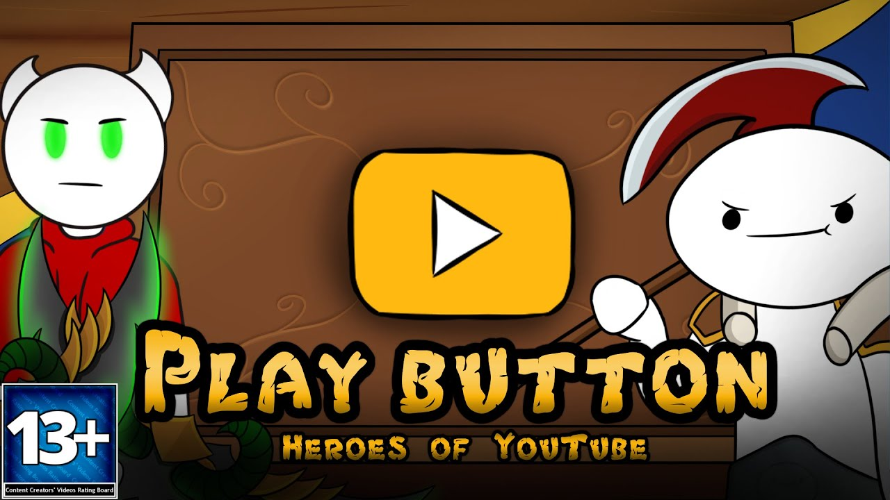 Avengers Parody Porn Subtitulos play button heroes of youtube - hearthstone trailer parody