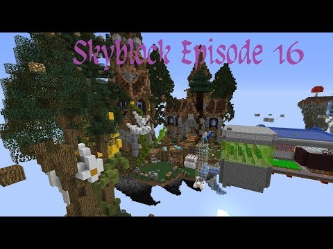 [SKYBLOCK] Ep16 - moons gets a fat bottom lip.