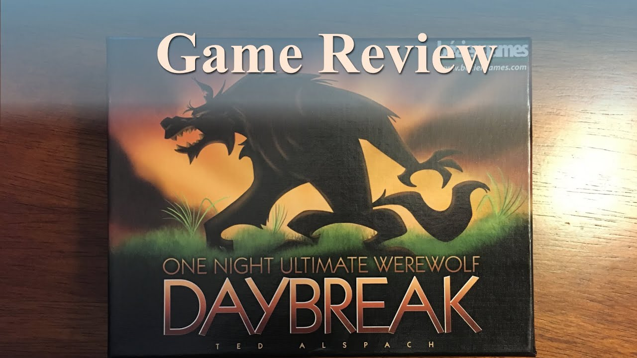 Game Review: One Night Ultimate Werewolf: Daybreak