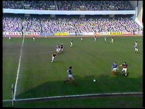 Rangers v Hearts 25 April 1987