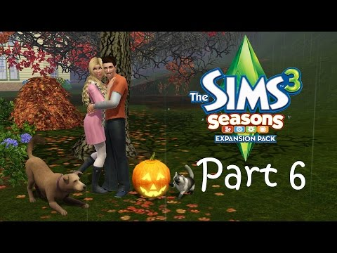 Let's Play the Sims 3: Seasons (Part 6) - Thunderstorms