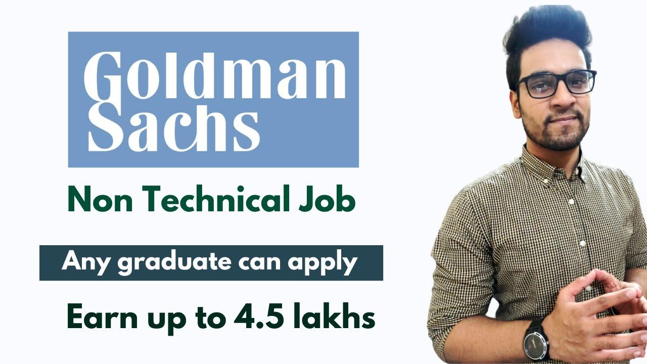 Goldman Sachs Job Vacancies 2021 | Graduate Job Opportunities |  Private Jobs For Graduates