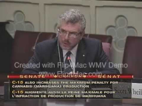 Bill C-15 Senate 10/29/09 Prof. James Morton