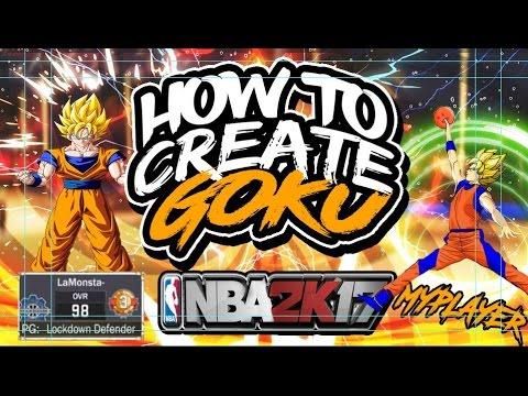 Nba2k17- How to Create Goku Officially(Originator)#SUBSESSION?