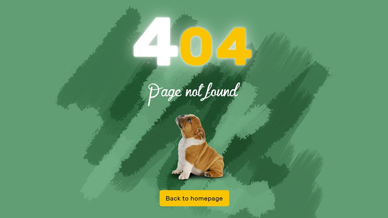 Photoshop tutorial: 404 page create in Photoshop | 404 Page
