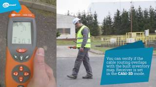 Cables identification with Sonel LKZ-720 locator