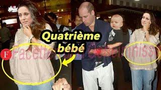 Bonnes nouvelles! Kate Middleton repéré avec bosse bébé enceinte ..!!