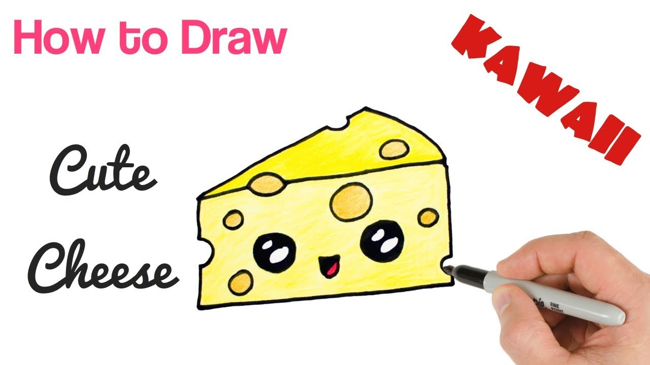 How To Draw Cheese Youtube
