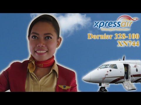 Xpress Air Dornier 328-100 Flight XN744  Bandung (BDO) to Bandar Lampung (TKG)