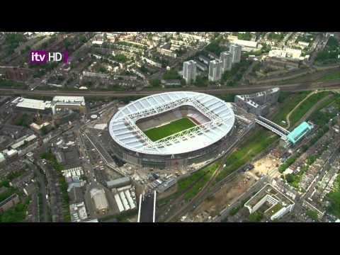 ITV HD test - Showing views of London...Gherkin, Crystal Palace TV transmitter etc
