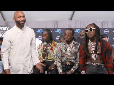 Migos Was about to fight Joe Budden at The BET Awards [Full Video]