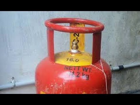 Check LPG Gas Cylinder Expiry Date