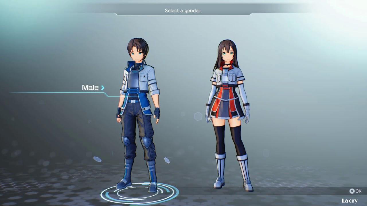 Sword Art Online: Fatal Bullet Character Creation (All Options)