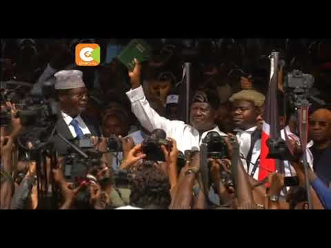 Odinga's oath not recognized by Kenyan laws