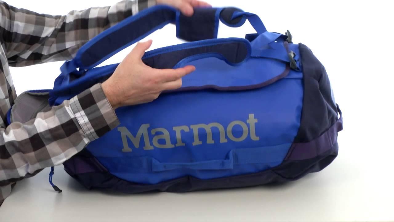 Marmot Long Hauler Duffle Bag SKU 8333165 - YouTube a92163d0e47f