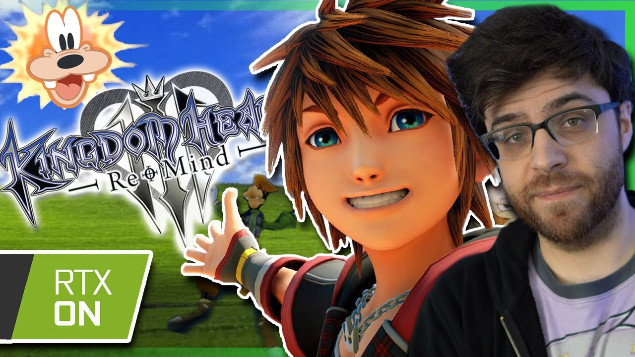 Kingdom Hearts 3 but with Graphics