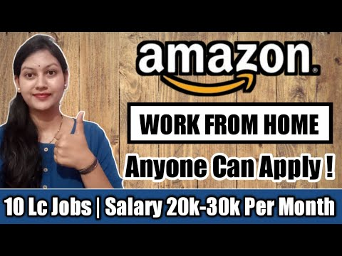 Work From Home Jobs🔥 | WORK FROM HOME 🏠|Online Jobs For Students |ONLINE JOBS FROM HOME |AMAZON JOBS