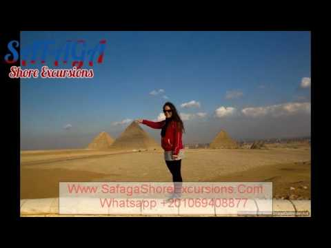 Cairo and Giza Pyramids from Port Said || Safaga Shore Excursions