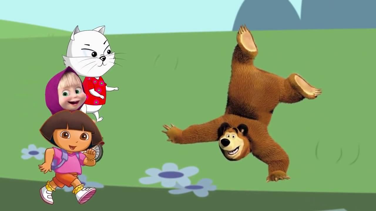 маша и медведь даша
