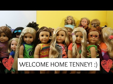 Welcome Home Tenney!