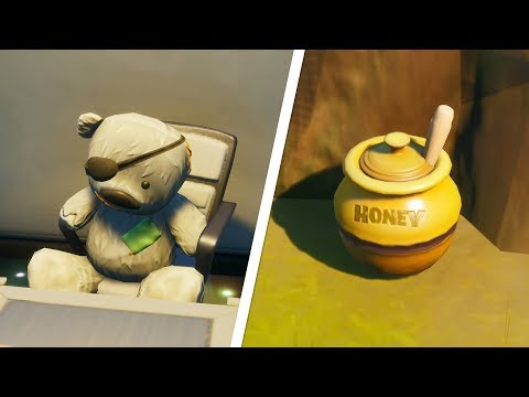 The Ted Offensive Secret Challenge Guide (All Honey Jar Locations) - Fortnite