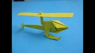 Cara Membuat Mainan Anak Dari Kertas Origami Pesawat Helikopter Yang Keren | Origami Paper #2