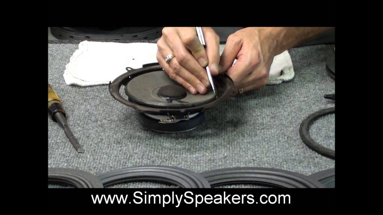 Speaker Repair Toyota Tundra, Sequoia JBL 86160-AF060, 86160-AF070 Refoam