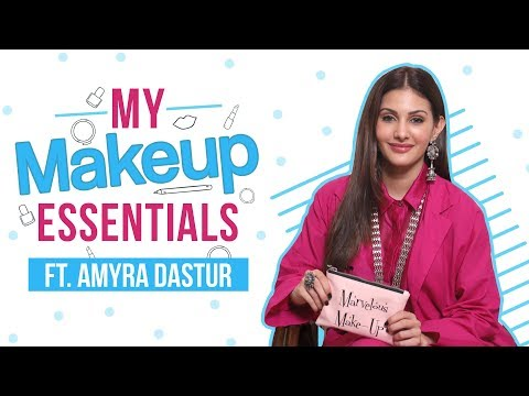 What's in my makeup bag ft. Amyra Dastur | Fashion | Pinkvilla | Lifestyle | Beauty
